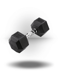 Body-Solid Rubber Coated Hex Dumbbell 25 lb