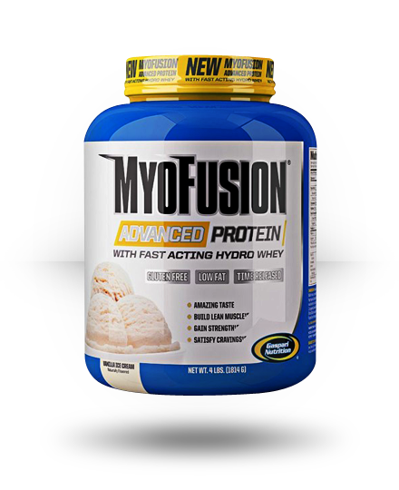 Gaspari Nutrition MyoFusion Advanced Protein Vanilla 4 lb