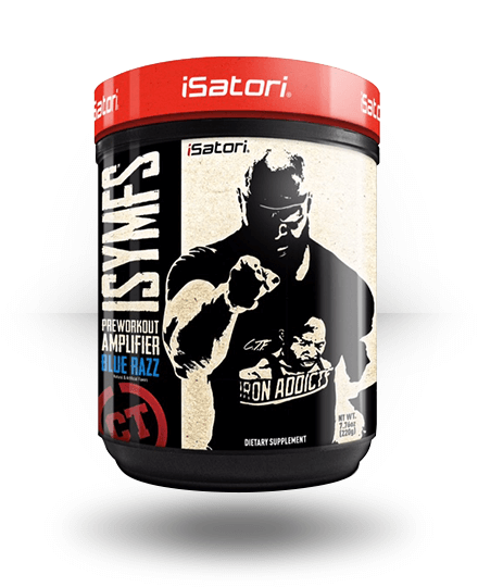 iSatori CT Fletcher ISYMFS Blue Razz 21 Servings