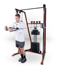 Best Fitness Functional Trainer Red