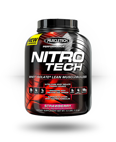MuscleTech Nitro-Tech Strawberry 41 Servings