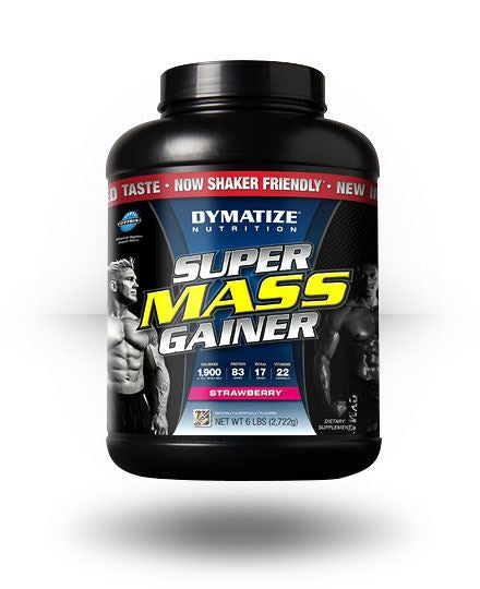 Dymatize Super Mass Gainer Strawberry 6 lb