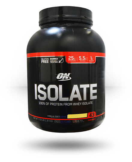 Optimum Nutrition Isolate Vanilla Softserve 3 lb