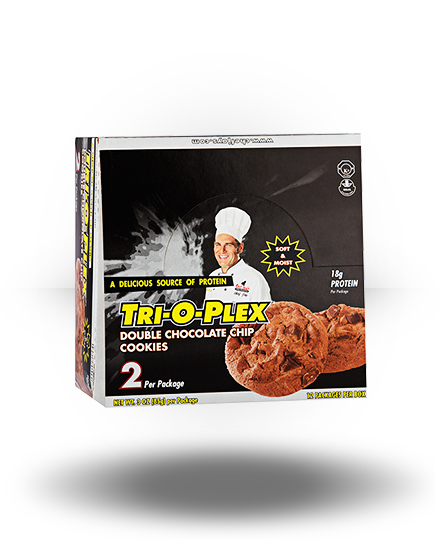 Chef Jay's Tri-O-Plex Cookies Double Chocolate Chip 12 ea