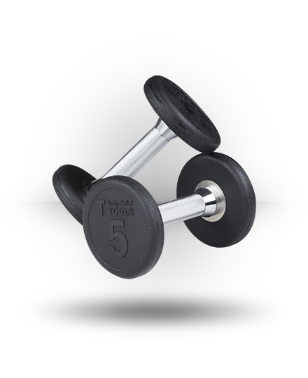 Rubber Pro-Style Dumbbell