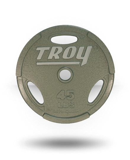 Troy Barbell Machined Interlocking Grip Plate 45 lb