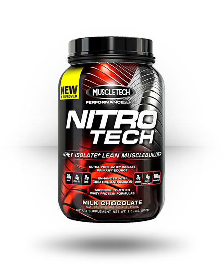 MuscleTech Nitro-Tech Milk Chocolate 21 Servings