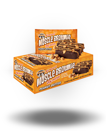Lenny & Larry's Muscle Brownies Peanut Butter 12 ea