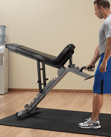 ProClubline Flat/Incline/Decline Bench