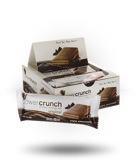 Power Crunch Original Protein Energy Bar Triple Chocolate 12 x 1.4 oz Bars