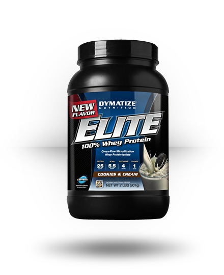 Dymatize Elite Whey Cookies & Cream 2 lb