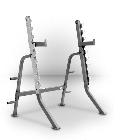 XMark Fitness XMark Multi Press Squat Rack with Olympic Plate Weight Storage