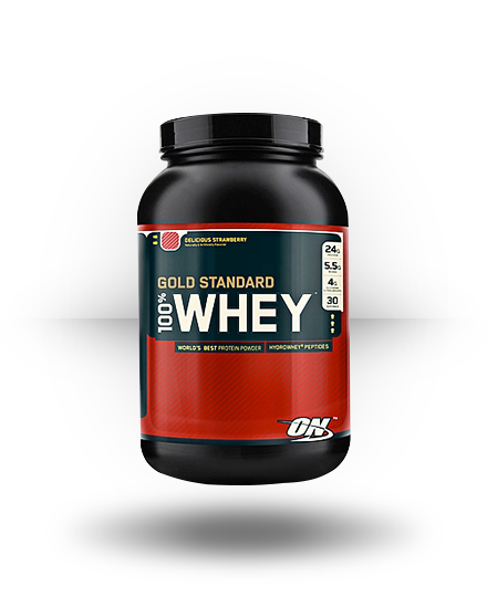 Optimum Nutrition Gold Standard 100% Whey Delicious Strawberry 2 lb