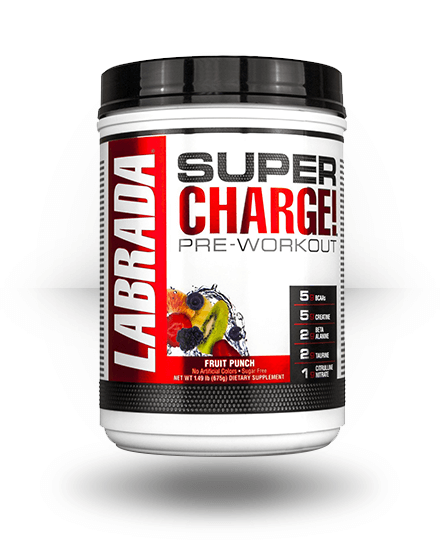 Labrada Nutrition Super Charge Fruit Punch 25 Servings