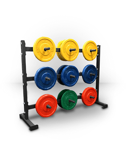 Torque Fitness 6 Foot Horizontal Weight Storage Rack