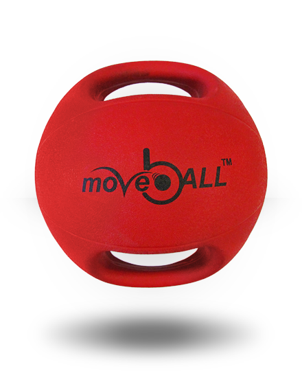 moveBALL Transform 6 kg Red