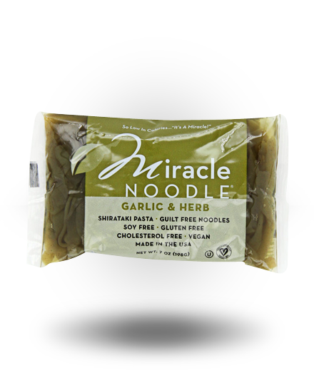 Miracle Noodle Miracle Garlic Herb Fettuccini Saver Pack