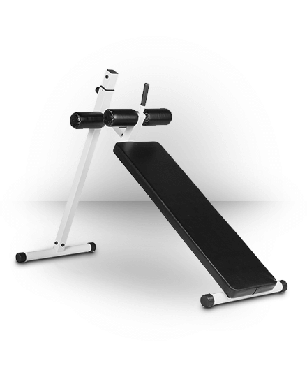 XMark Fitness 10 Position Adjustable Decline Abdominal Bench