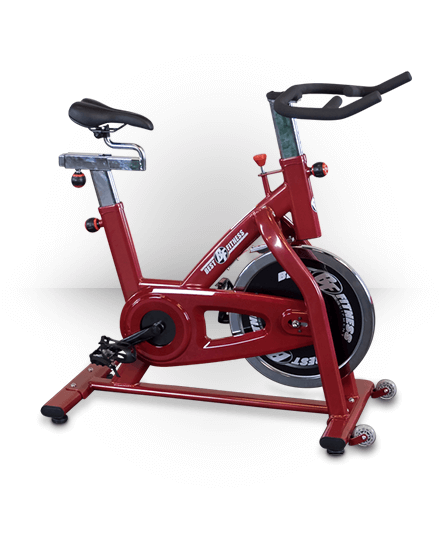 Best Fitness Chain Spin Style Bike Red BFSB5R