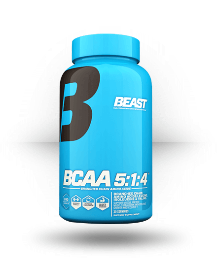 Beast Sports Nutrition BCAA 5:1:4 240 Capsules