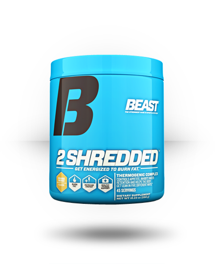Beast Sports Nutrition 2 Shredded Orange Mango 45 ea