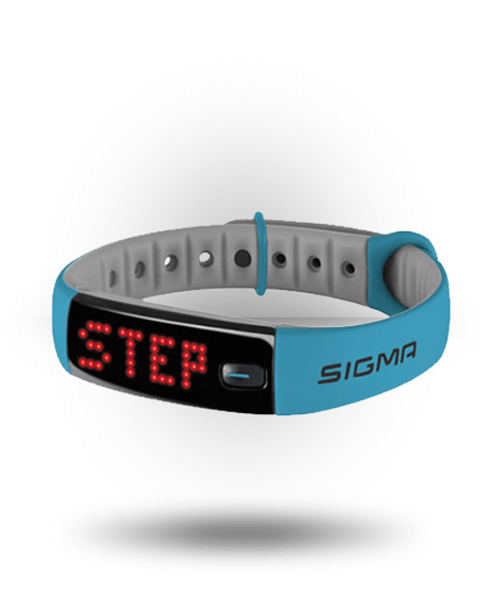 Sigma Activo Activity Tracker Blue/Gray