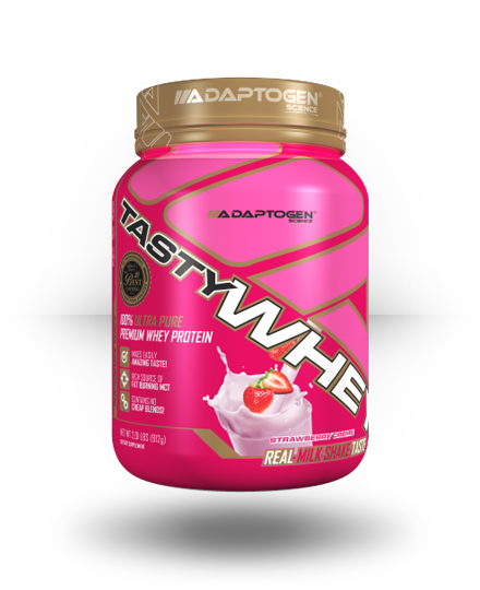 Adaptogen Science Tasty Whey Strawberry Creme, 5 lb