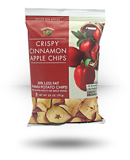 Good Health Apple Chips Crispy Cinnamon 12 ea