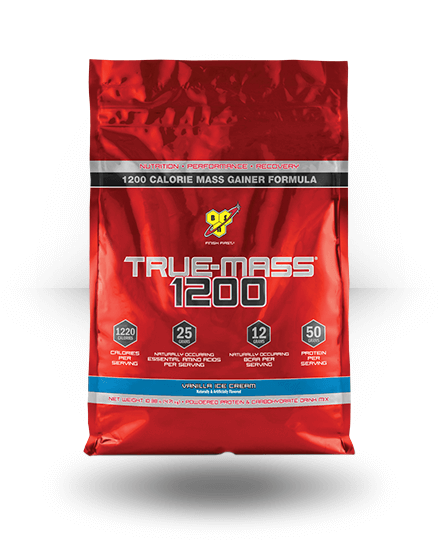 BSN True Mass 1200 Vanilla Ice Cream 10.25 lb