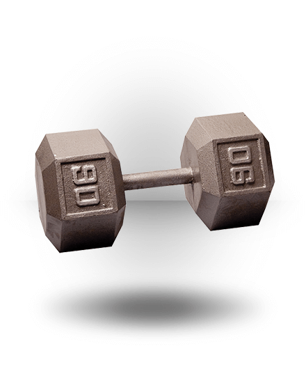 Body-Solid Hex Dumbbell 90 lb