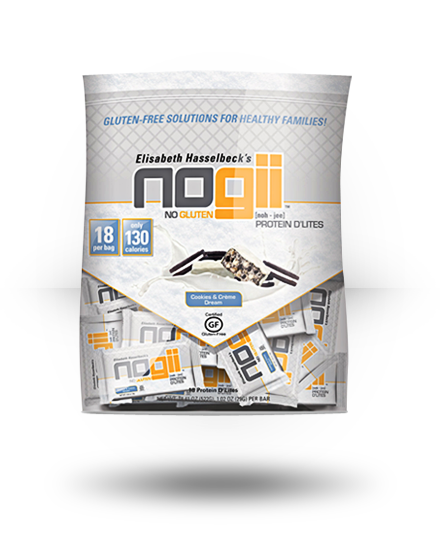 NoGii Protein D'Lites Cookies & Cream Dream, 18 x 1 oz