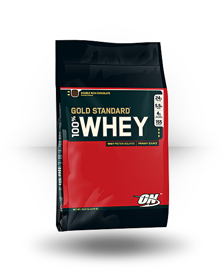 Optimum Nutrition Gold Standard 100% Whey Double Rich Chocolate 10 l