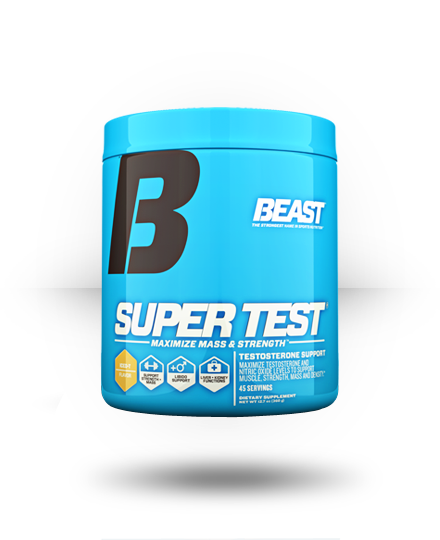 Beast Sports Nutrition Super Test Iced T Flavor 45 ea