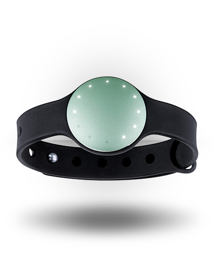 Misfit Shine with Sport Band Sea Glass