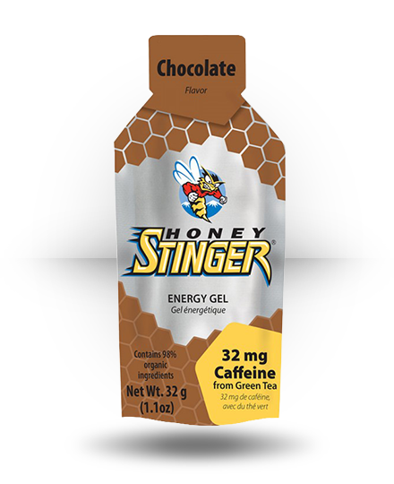 Honey Stinger Organic Energy Gel Chocolate, 24 x 1.1 oz Packets