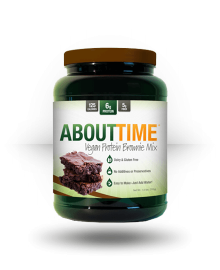 About Time Vegan Protein Brownie Mix Chocolate 20 Servings