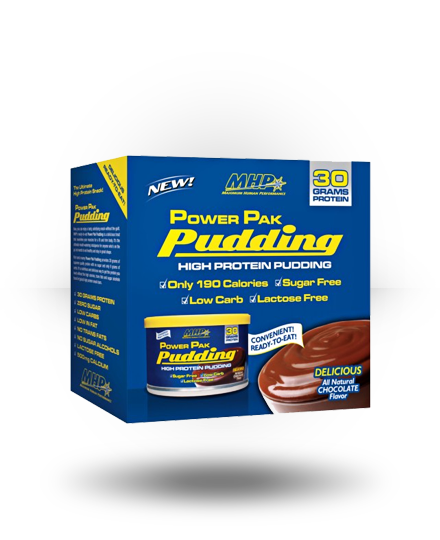 MHP Power Pak Pudding Chocolate 6 x 8.8 oz Cans