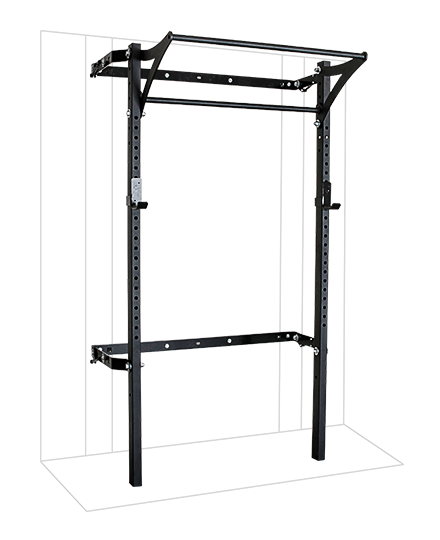 PRX Performance 2x3 Profile Rack with kipping bar Black Oynx