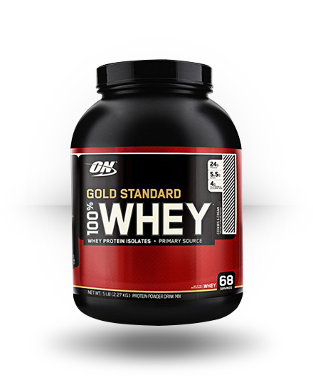 Optimum Nutrition Gold Standard 100% Whey Cookies N' Cream 5.15 lb