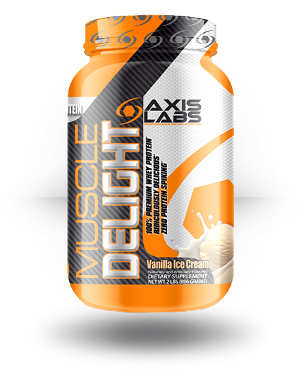 Axis Labs Muscle Delight Vanilla Ice Cream 2 lb