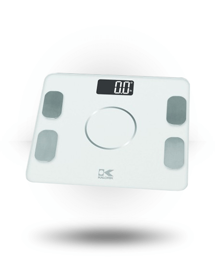 Kalorik Bluetooth Electronic Body Fat Scale White