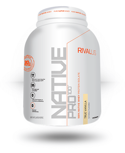 Rivalus Native Pro 100 True Vanilla 35 Servings
