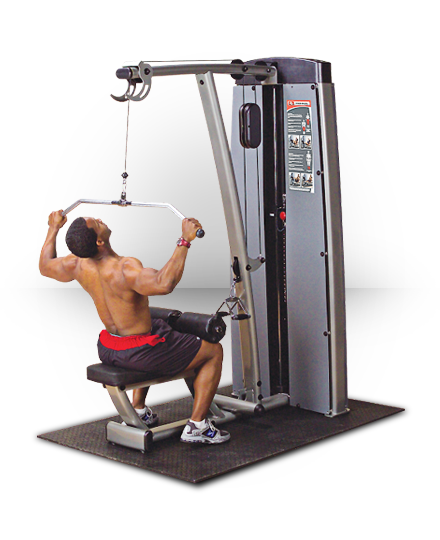 Body-Solid Pro Dual Lat Mid Row (NO STACK)