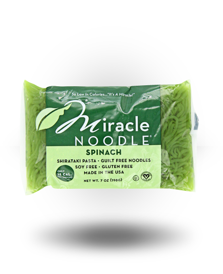 Miracle Noodle Spinach Angel Hair Saver Pack