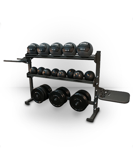 Torque Fitness 6 Foot Combination Storage/Dip/Plyo Rack