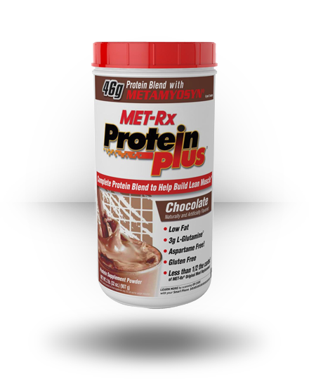 MET-Rx Protein Plus Protein Powder Chocolate 2 lb