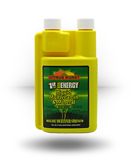 1st Step for Energy Liquid Multivitamin & Mineral Citrus Burst 16 oz