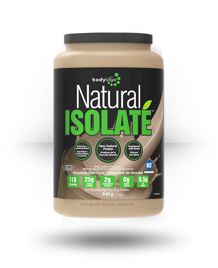 Bodylogix Natural Isolate Whey Protein Isolate Natural Dark