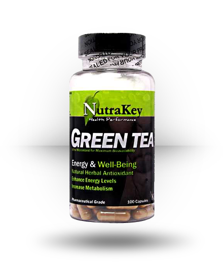 Nutrakey Green Tea Extract 100 ea