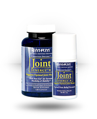 MRM Joint Synergy + Capsules & Soothing Topical Roll-O